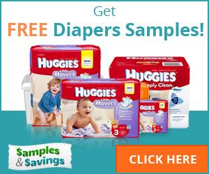 Get Free Diaper Samples Like Huggies