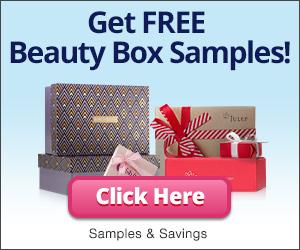 Beauty Box Samples banner advertisement