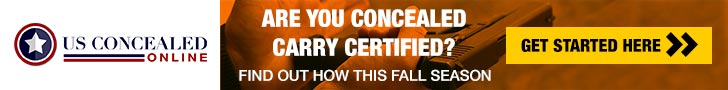 Concealed carry education banner ad