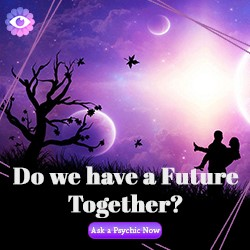 Purple Garden Psychics banner ad
