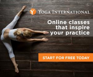 Yoga International invite, banner ad